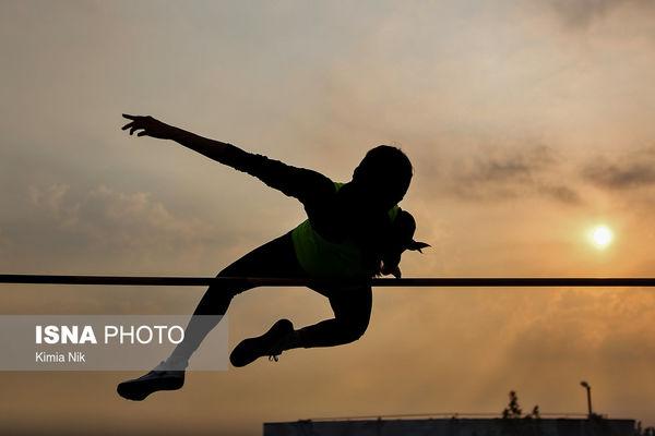 مرحله دوم مسابقات دو و میدانی قهرمانی باشگاههای بانوان ایران +عکس