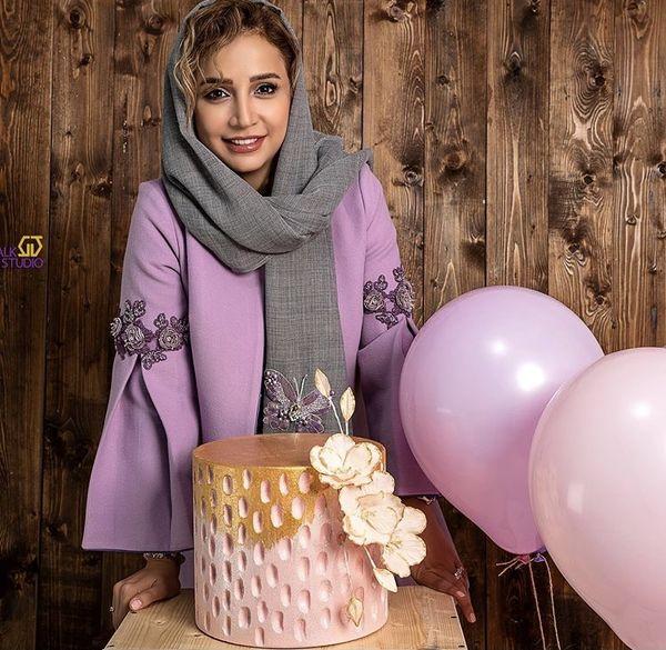 کیک تولد شیک شبنم قلی خانی + عکس
