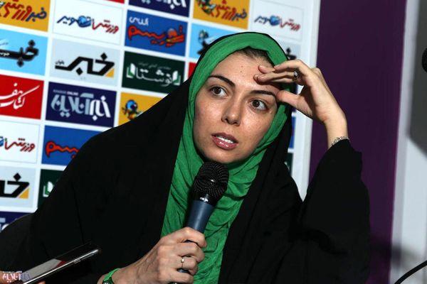 واکنش تند آزاده نامداری به مدیر شبکه سه