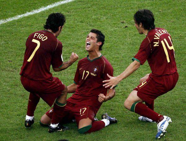 اولین گل رونالدو در جام جهانی مقابل ایران