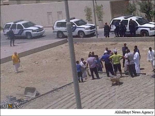 منع شدن شیعیان بحرین از نماز+عکس