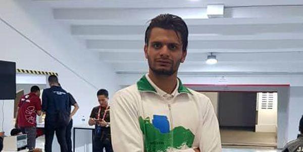 علی نجیمی به مدال طلای دوی 400 متر مردان رسید