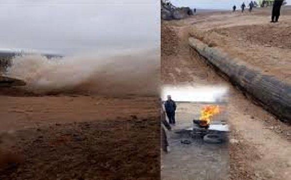 تخریب خط انتقال آب یزد برای بیست و پنجمین بار