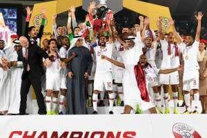 سانسور خوشحالی بازیکن قطر در صداوسیما! عکس