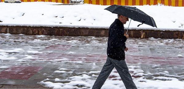 """""""برف"""" در راه چهار استان"""