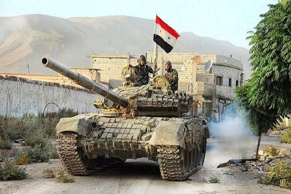 پیشروی ارتش سوریه در آزادسازی درعا
