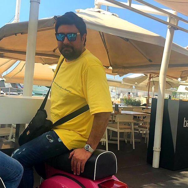 محمد علیزاده در خارج از کشور + عکس