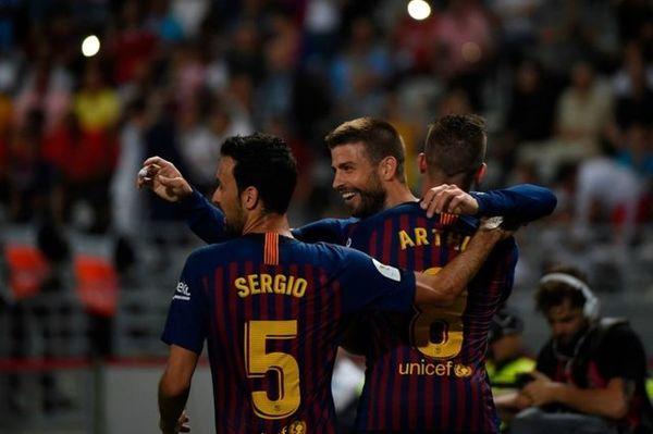 افتخارات بازیکن فرانسوی سابق بارسلونا+عکس