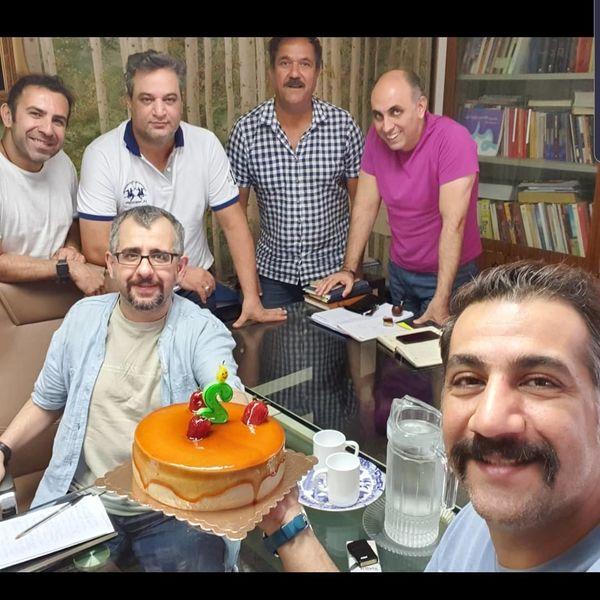جشن تولد محمد نادری در جمع دوستانه+عکس