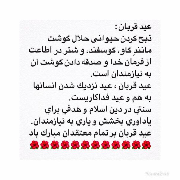 تبریک همسر بازیگر آقای سیاست مدار به مردم