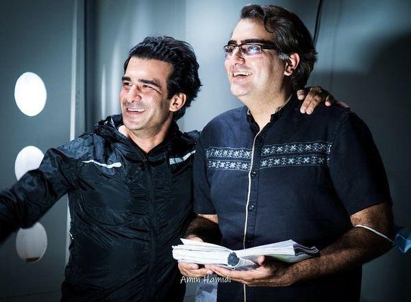 یوسف تیموری در کنار دوستش + عکس