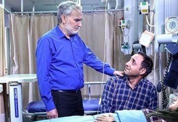 ملاقات آقایون بازیگر از متین ستوده در بیمارستان+عکس