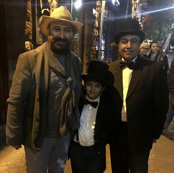 لباس کابویی مهران احمدی و رضا عطاران + عکس