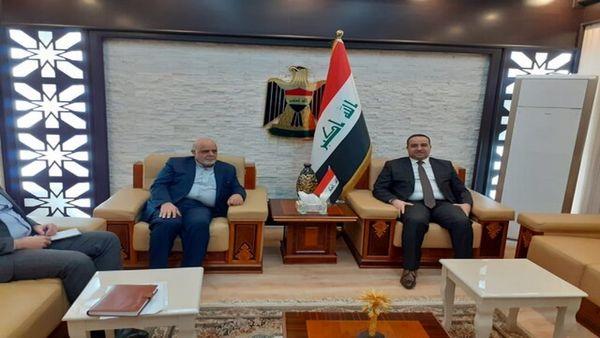 رایزنی سفیر ایران در بغداد با وزیر بازرگانی عراق