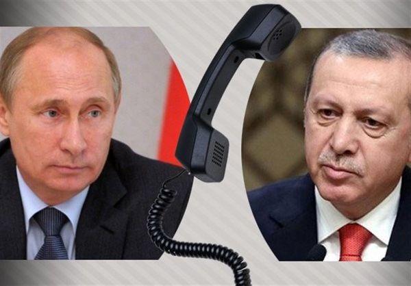 رایزنی تلفنی پوتین و اردوغان درباره اوضاع غزه