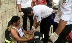 افزایش تعداد مصدومان حادثه آتش سوزی برج 20 طبقه در تهران