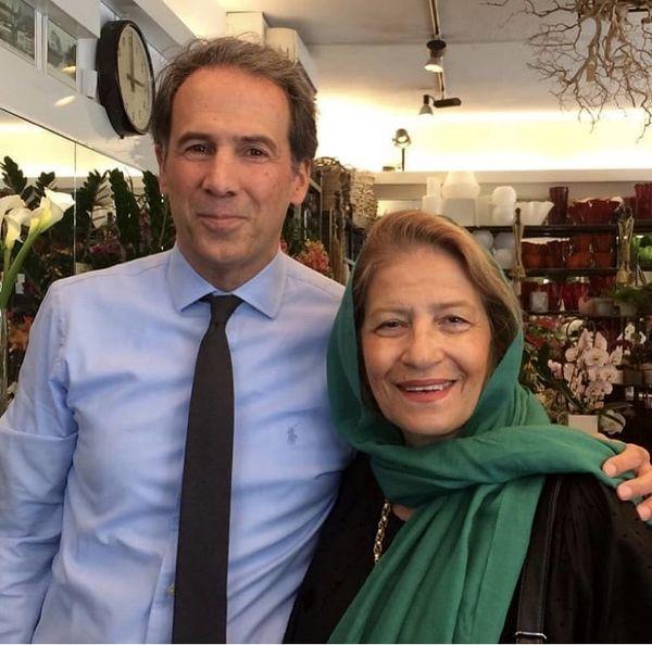 همسر و پسر ارشد مرحوم داوود رشیدی + عکس