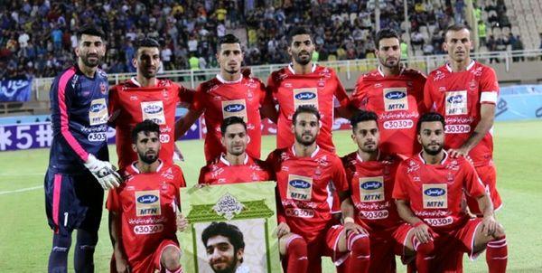 کاروان تیم فوتبال پرسپولیس به دبی رسید