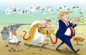 کاریکاتور/ مسیر ساحل امن دجال!!!