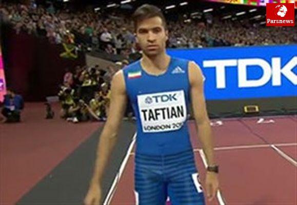 سریعترین مرد ایران در پاریس ناکام شد