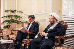 توضیحات آملیلاریجانی درباره احضار احمدینژاد به دادگاه کیفری