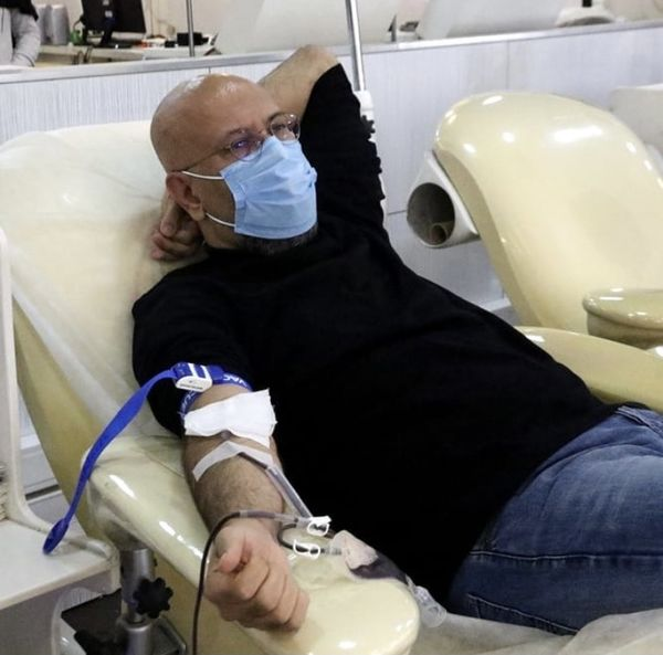 محمد بحرانی در بیمارستان + عکس