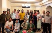 جشن سینماگر شدن رضا رشیدپور+عکس