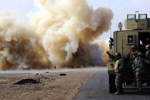 سومین حمله به کاروان آمریکایی در عراق