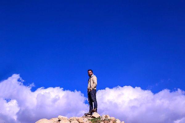 عباس غزالی در آسمان ها+عکس