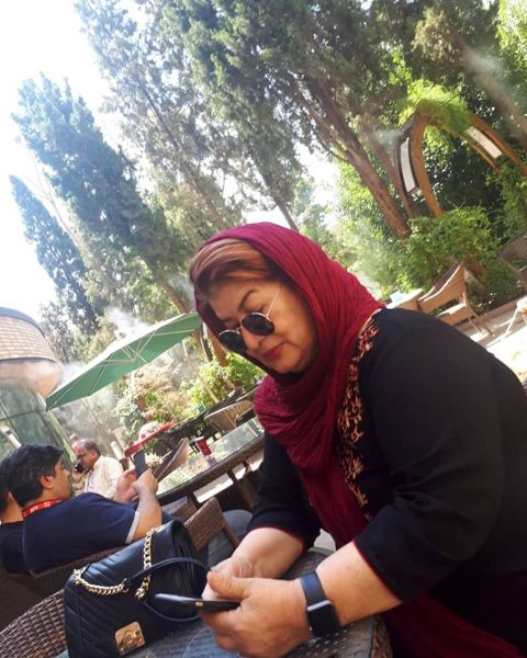 کار سخت خانم کارگردان در اصفهان+عکس