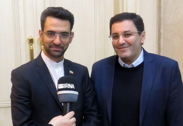 وزیر ارتباطات و فناوری اطلاعات وارد باکو شد