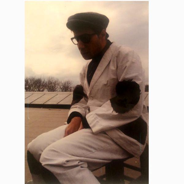 ظاهر متفاوت و فقیرانه جواد عزتی در سالهای دور+عکس