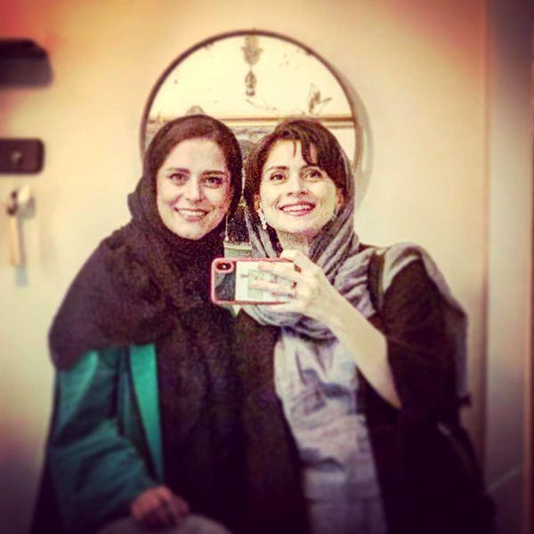 عکس همسر شازده ارسلان و خواهرش