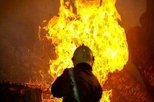عکسی متفاوت از آتشسوزی امروز در شوش+ عکس