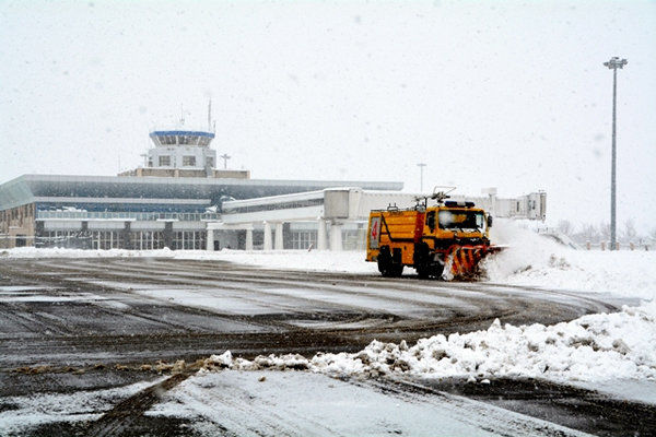 آغاز پروازهای فرودگاه اردبیل با رفع ناپایداری هوا