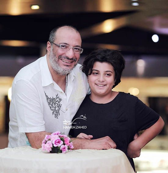 حال خوب امیرجعفری کنار پسر رشیدش+عکس