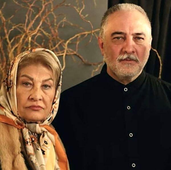 ایرج نوذری و مادرش + عکس