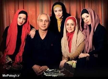 الناز حبیبی در جمع خانواده اش + عکس