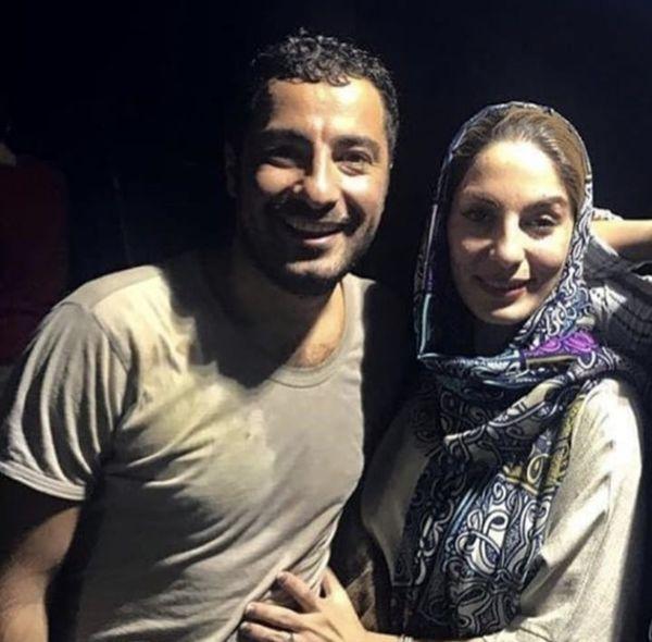 نوید محمدزاده و خواهرش + عکس