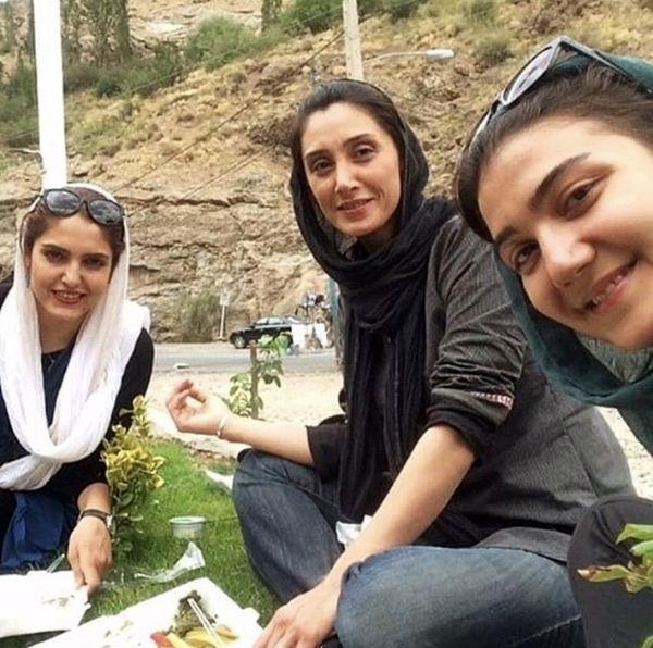 تفریحات هدیه تهرانی با دوستانش + عکس