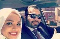 تحویل سال خانم مجری در کنار همسرش