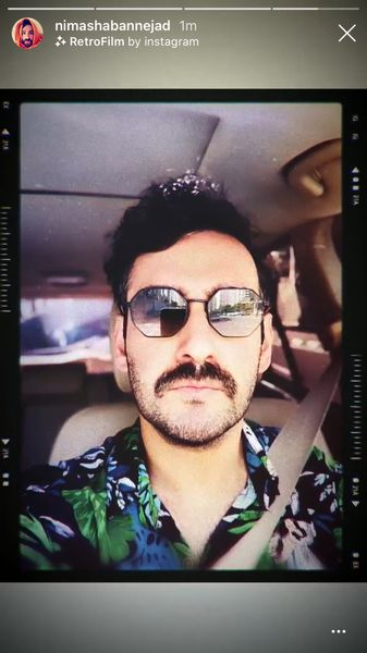 عینک آفتابی متفاوتنیما شعباننژاد + عکس
