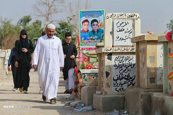 قبرستان اسرارآمیز در نجف