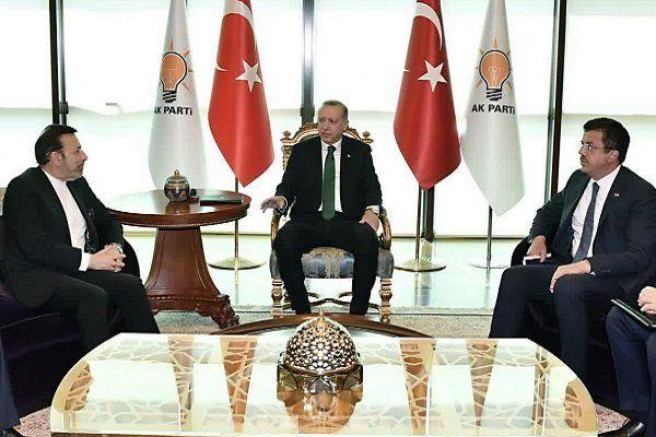 «واعظی» با راردوغان دیدار و گفتگو کرد