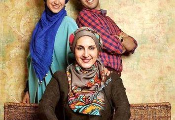 فاطمه گودرزی و فرزندانش+عکس