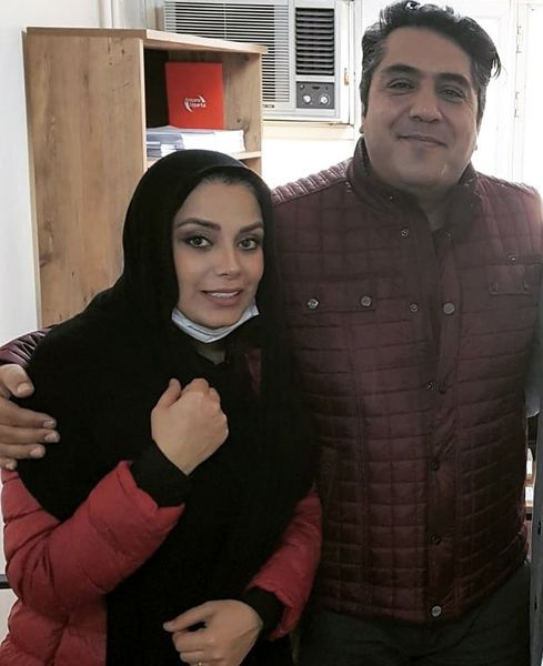مانی رهنما و همسرش + عکس