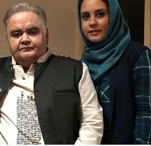 عکس نسخه زنانه اکبر عبدی