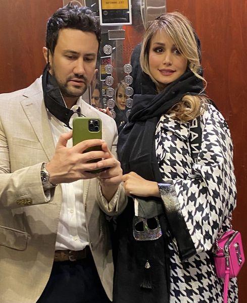 استایل شیک شاهرخ استخری و همسرش + عکس