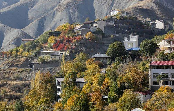 تهران به رنگ پاییز