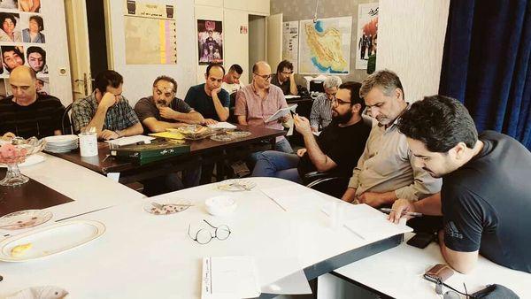تیم کهکشانی آقای کارگردان بدون مهران مدیری+عکس